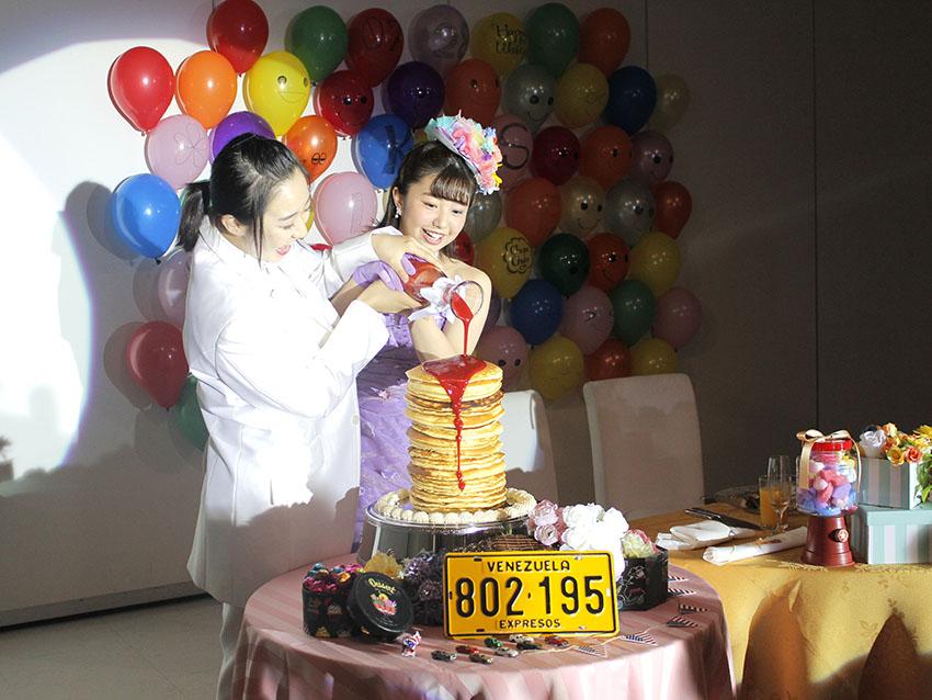 パーティ会場を可愛く飾ろう♡〜デザートブッフェ付〜